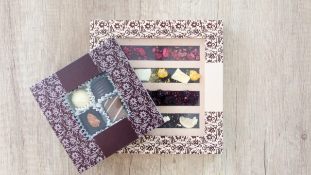 チョコレートの箱